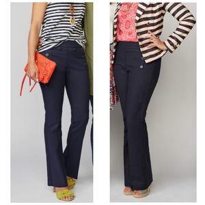 Cabi Mariner Trousers Flare Cut Pants 2